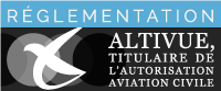 Altivue, titulaire de l'autorisation aviation civile